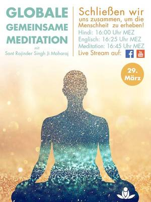 Aktuell: Globale Meditation am 29.3.2020
